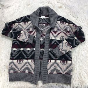 American Eagle Outfitters Oversized Navaho Print Cardigan